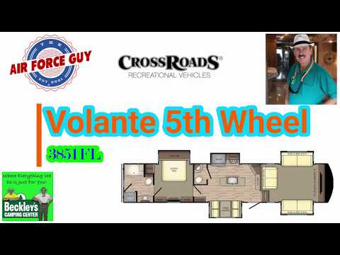 "Volante 3851Fl 5th wheel by CrossRoads RV  -    w/ Paul Chamberlain, Jr. ""The Air Force Guy"""