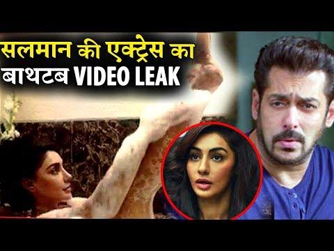 Salman Khan's actress Mahek Chahal Bathtub Video Leaked!