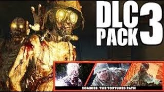 HUNTING THE HIDDEN EASTER EGGS on Call Of Duty WW2 DLC 3 Zombies The Tortured Path (Family Friendly)