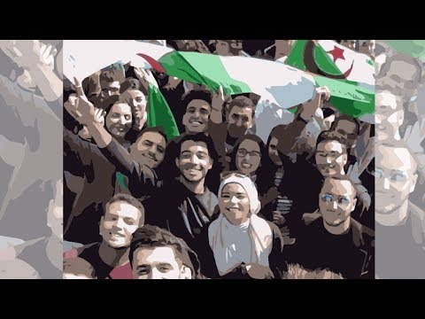 """شاهدوا كيف يتغير الشباب الجزائري منذ بداية الحراك الشعبي؟ .. """"الأمل والحماس يعود إلى شبابنا""""!"""
