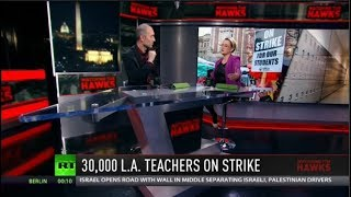 L.A. Teachers Go On Massive Strike & Sex Toy Discrimination Prevails