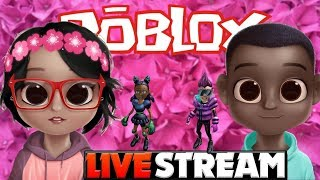 ROBLOX LIVE BR-LET'S PLAY ONLINE GAMES AT ROBLOX 😘😍 💕😍💚💛🔴💓💚💙💚