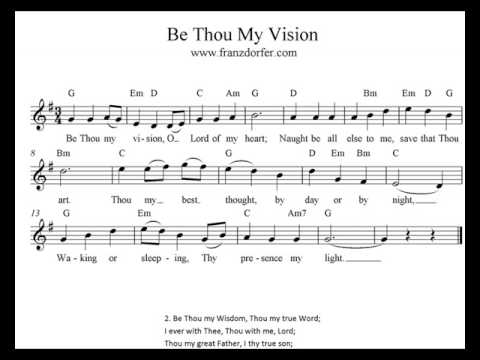 Be Thou My Vision Play Clarinet Youtube
