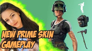 EARLY ACCESS TWITCH PRIME SKIN! | Fortnite Battle Royale Gameplay | Alexia Raye