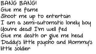 Green Day -Bang Bang Instrumental