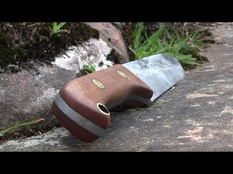 Spring Steel Chopper/Machete From 100 Year Old Leaf Spring!