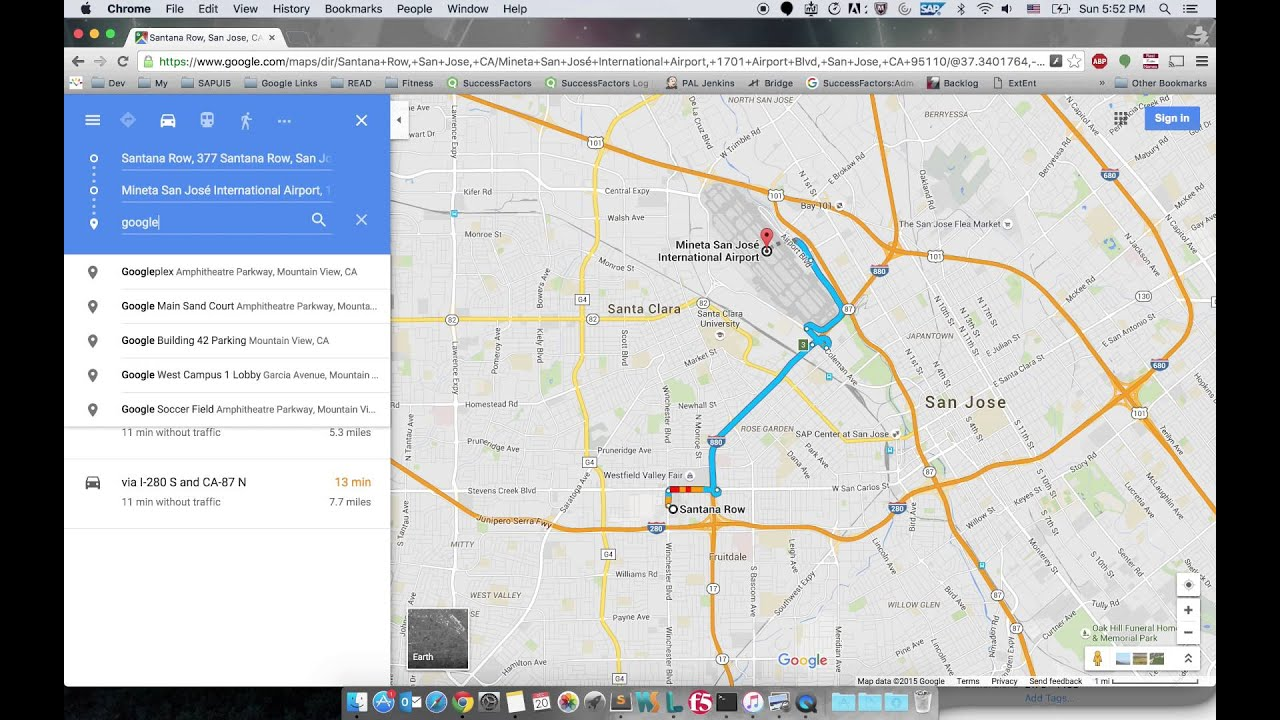 Adding Multiple Destinations In New Google Maps YouTube - Google maps pinpoint multiple locations