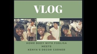 VLOG Hanging out with Kenya