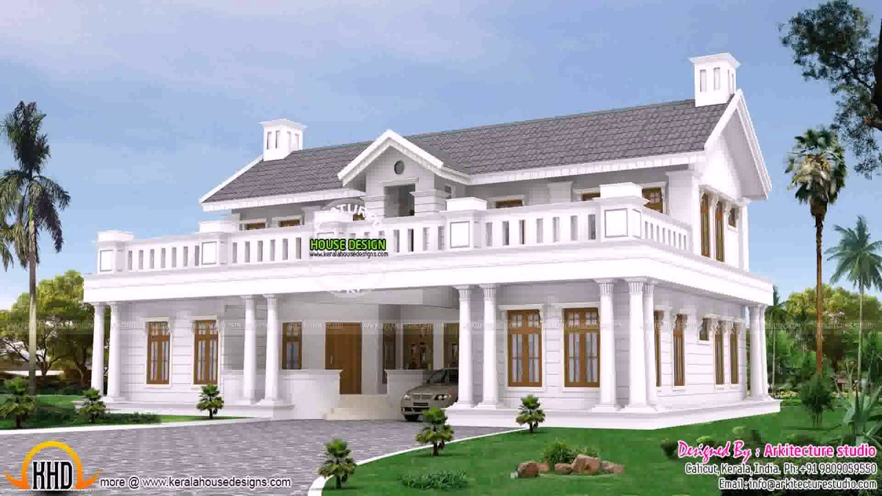 Country Style House Designs Uk - YouTube