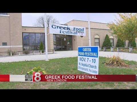 Greek Food Festival kicks off at New London church