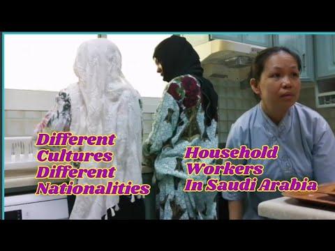 HOUSEHOLD SERVICE WORKERS IN RIYADH, SAUDI ARABIA