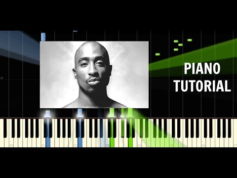 2Pac  Changes  Piano EASY Tutorial    Synthesia How To Play