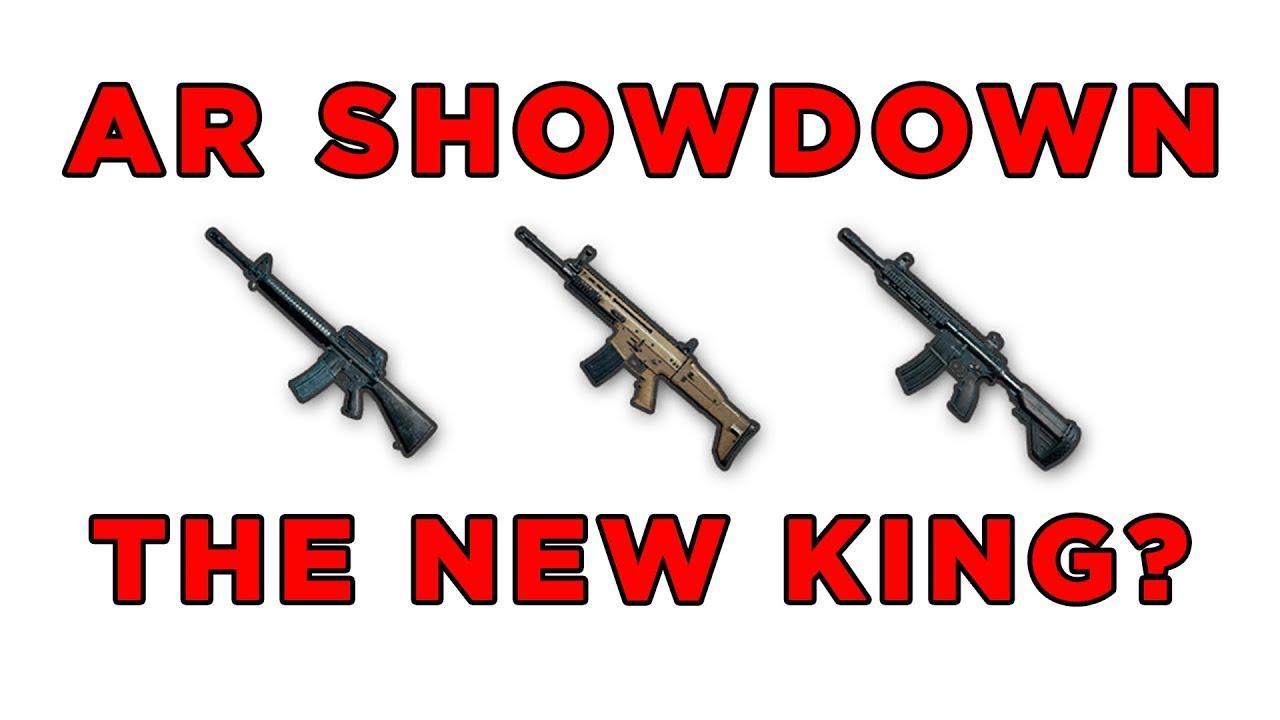 AR SHOWDOWN: IS THE M16 THE NEW BEST GUN? - PUBG GUIDE UPDATE
