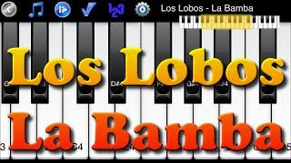 Los Lobos - La Bamba - How to Play Piano Melody