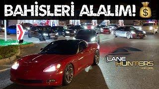 15.000.000 TL'lik Rolling Race! | Bentley, Lamborghini, Corvette, GTR, BMW i8, GTR Nismo!