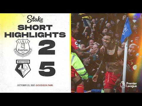 Everton Watford Goals And Highlights