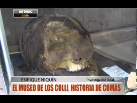 El Museo de los Colli, historia de Comas