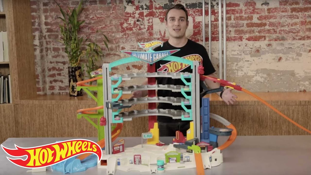 how to build the hot wheels ultimate garage