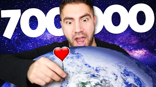 CHANGING THE WORLD SEVEN TIMES - 700,000 Subs...
