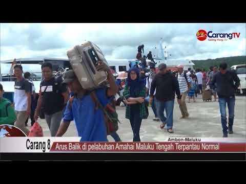 Arus Balik Di Pelabuhan Amahai Maluku Tengah Terpantau Normal