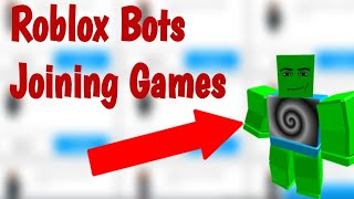 Roblox Scam Bot Are Joining Games