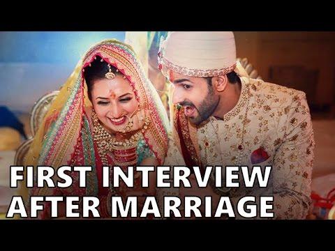 Divyanka Tripathi and Vivek Dahiya FIRST Interview after their Wedding