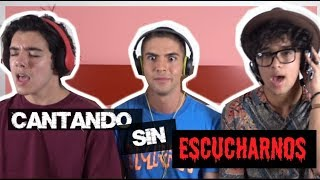 Video Cantando Sin Escucharme CHALLENGE  ft. Joel Pimentel ( CNCO ) Yoandri | Johann Vera download MP3, 3GP, MP4, WEBM, AVI, FLV November 2017