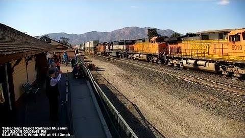 Tehachapi Live Train Cams at the Tehachapi Depot Railroad Museum