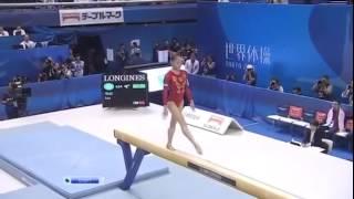 Потрясающе красивая спортивная гимнастика.