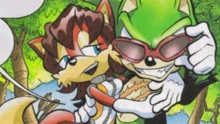 the sonic comics have great characters