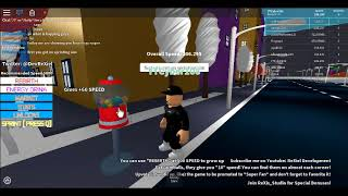 HOW TO GET SUPER FAST IN ROBLOX