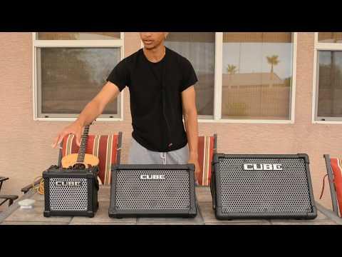 |ROLAND| Cube vs. Cube Street vs. Cube Street EX [DEMO + REVIEW]