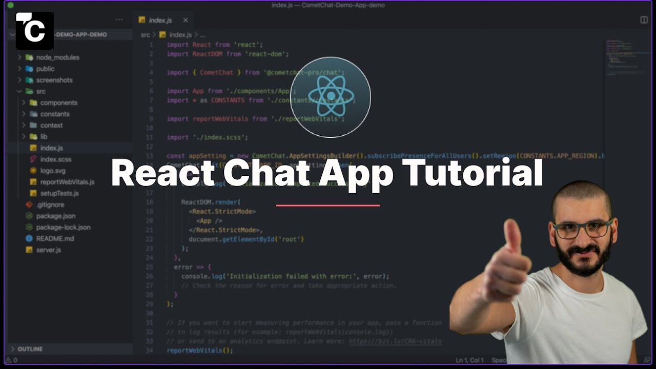 How to Create Chat in React   A React Chat App Tutorial