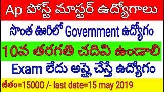 Andhra pradesh postal jobs 2019    Ap latest jobs 2019   