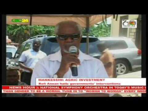 Ghana: Former UN Secretary General Kofi Annan calls for more Agric investment