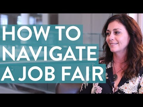 How To Navigate A Job Fair