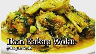 Ikan Kakap Woku - Resep dan Cara Membuat Ikan Kakap Woku Belanga Khas Manado