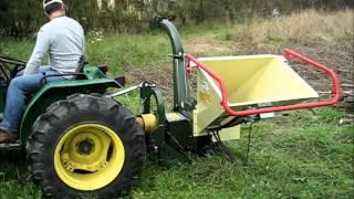 Repeat youtube video Rębak / rozdrabniacz biomasy NEGRI 225T na WOM