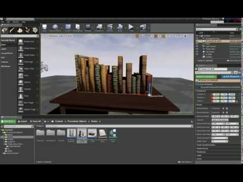 UE4 Books Blueprint