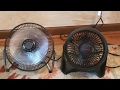 default - Honeywell HT-908 Turbo Force Room Air Circulator Fan, Black, 15 Inch