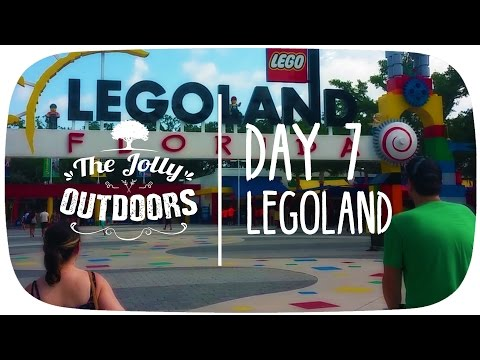 Day 7 - Legoland - Orlando Florida 2016 holiday vlog Video