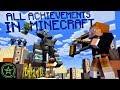 PILLAGER RAID - Minecraft - All 103 Achievements (Part 5) | Let's Play