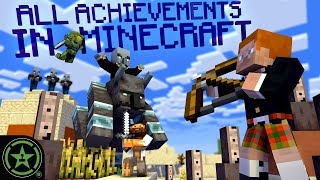 PILLAGER RAID - Minecraft - All 103 Achievements (Part 5) | Let's Play