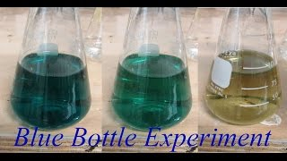 The Blue Bottle Experiment - Glucose Reduction