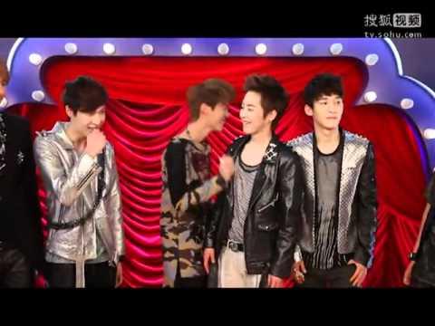 [NG Cut] EXO-M on Da Peng De Ba De