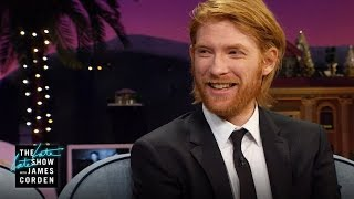Domhnall Gleeson Flies Under the Radar
