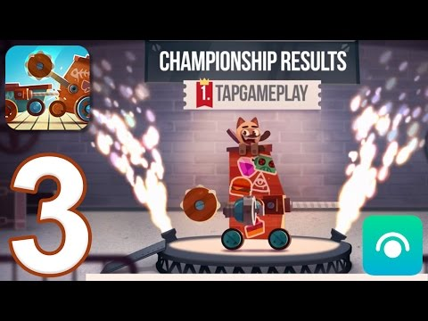 CATS: Crash Arena Turbo Stars - Gameplay Walkthrough Part 3 - Stage 5 (iOS, Android)