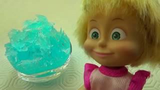 Чудо кристаллы вырастила Маша    Бабушкины Сказки