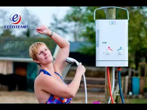 עדכני eccotemp מחמם מים באמצעות גז - YouTube ZD-99