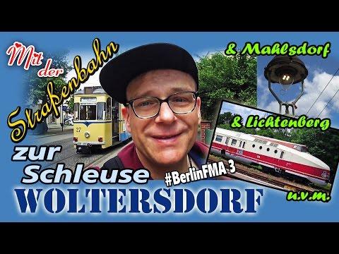 Mit der Tram zur Schleuse Woltersdorf | Mahlsdorf | Lichtenberg #kunstmichiworld 055 #BerlinFMA 3